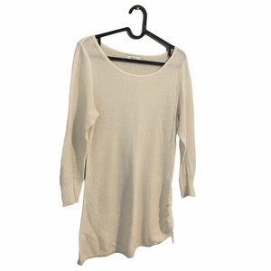 Reitmans White Long-Sleeve Casual Top